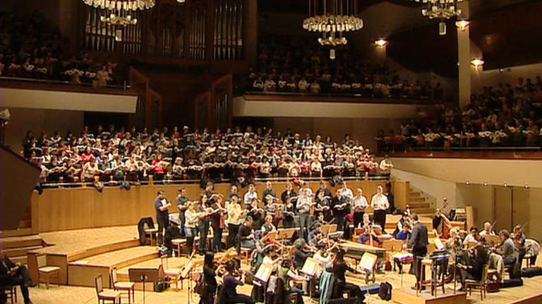 500 aficionados al canto debutarán en el Auditorio Nacional