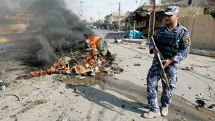 Decenas de muertos en una serie de atentados en Irak