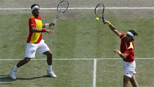 Decepción y sin medalla en el tenis olímpico español