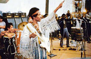 Décimo aniversario del festival de Woodstock