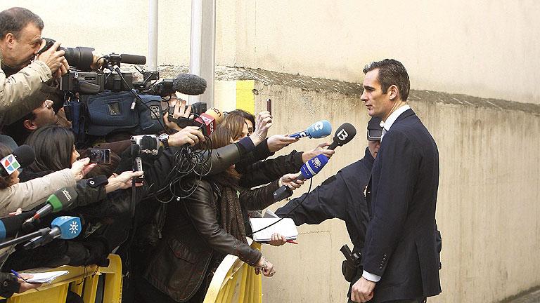 Declaración completa de Urdangarin a su llegada al juzgado de Palma