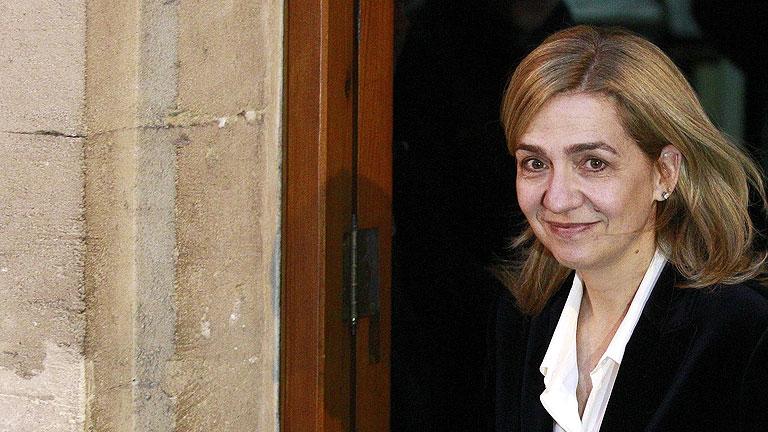 La infanta Cristina declara ante el juez Castro durante seis horas y media