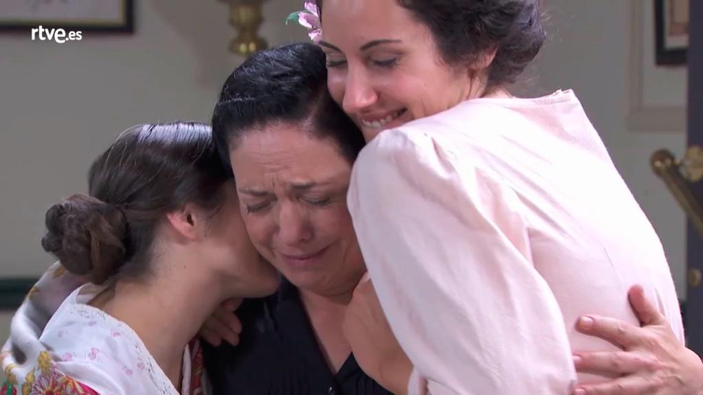 Acacias 38 - Los del Altillo sorprenden a Fabiana por su cumpleaños