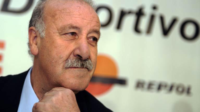 """Del Bosque, ante """"decisiones dolorosas"""" para conformar la lista de la Eurocopa"""