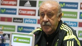 Del Bosque elogia a la selección femenina de fútbol