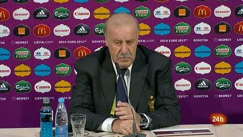 """Del Bosque: """"Ganamos por nuestras virtudes"""""""