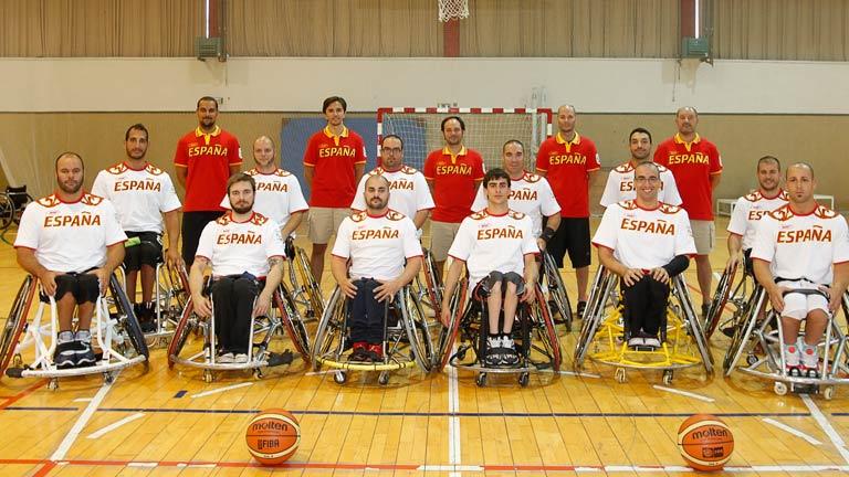 La delegación española última su preparación para los Juegos paralímpicos