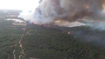 Incendio en Moguer - Declaraciones del delegado de la Junta