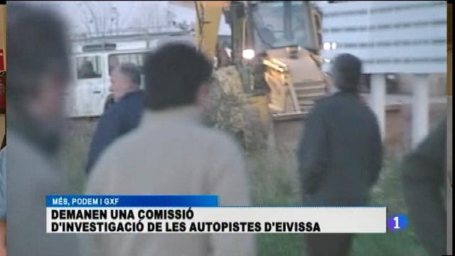 Demanen una comissió d'investigació sobre les autopistes d'Eivissa