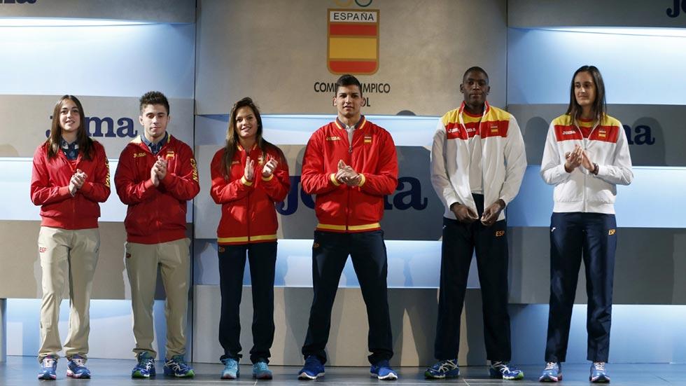 Los deportistas españoles ya tienen nueva equipación para Río 2016