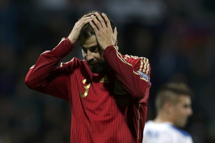 La derrota ante Eslovaquia ha hecho que España retroceda dos puestos.