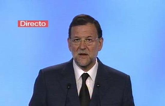 """Rajoy dice que la derrota de ETA está """"más cerca que nunca"""""""