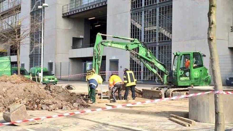 Desactivan una bomba de la Segunda Guerra Mundial en el campo del Dortmund