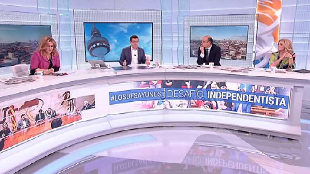 Los desayunos de TVE - Desafío independentista, 2ª parte - 19/10/17
