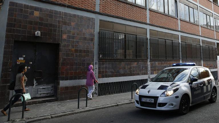 Desalojan en Madrid una casa con 'okupas' neonazis