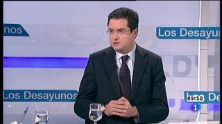 Ver vídeo  'Los desayunos de TVE - Óscar López, secretario de Organización del PSOE'