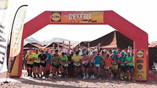 Atletismo - Desert Run 2015