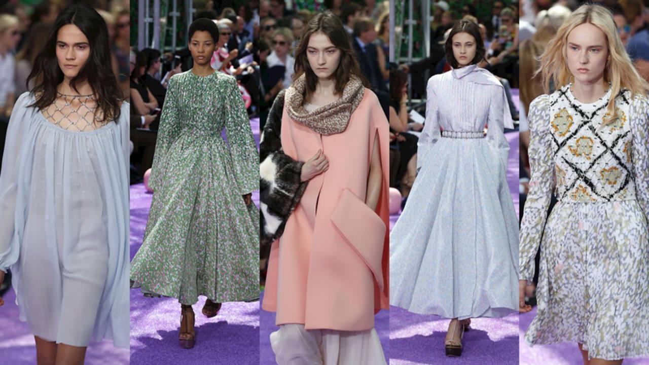 Desfile de alta costura de Dior