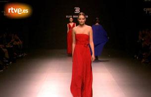 Desfile de Elio Berhanyer en la Cibeles Madrid Fashion Week