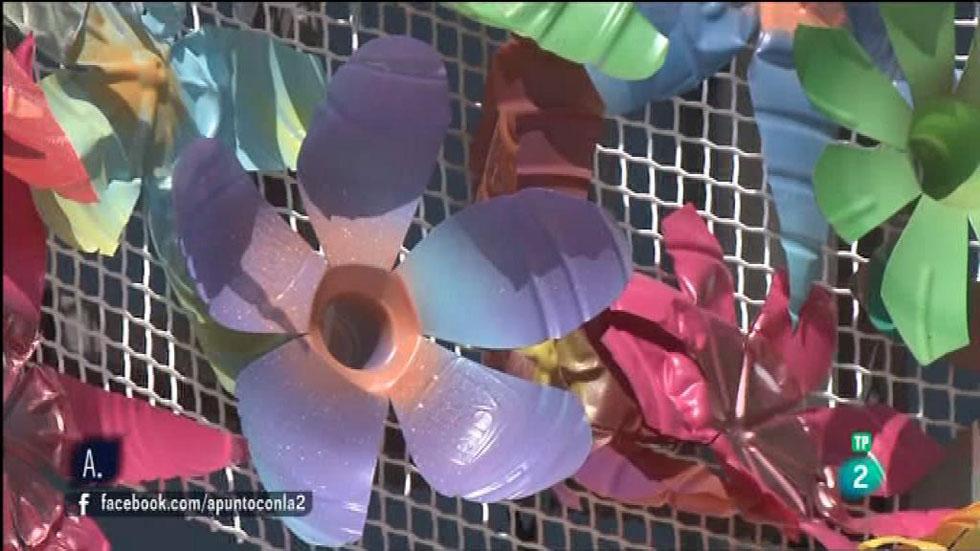 A punto con La 2 - Reciclando - Desi Valle y el supra-reciclaje