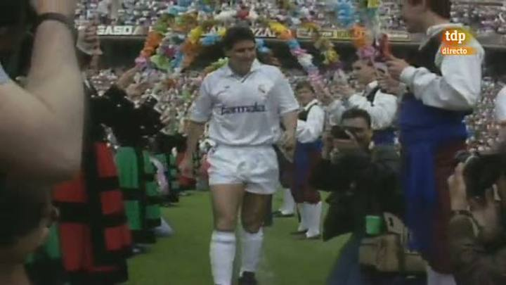 La despedida de Santillana y otras en 1988
