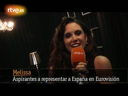 Destino Eurovisión - Melissa, a un paso de su sueño