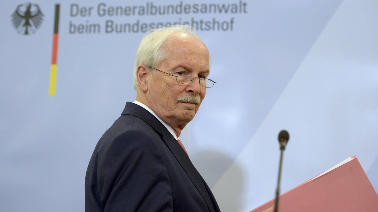 El destituido fiscal alemán Harald Range