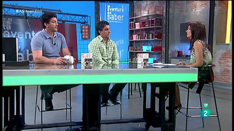 La Aventura del Saber. TVE. Roberto y Mariano García Carretero. DetectorMadrid