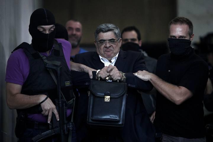 Detención del líder del partido neonazi griego Amanecer Dorado
