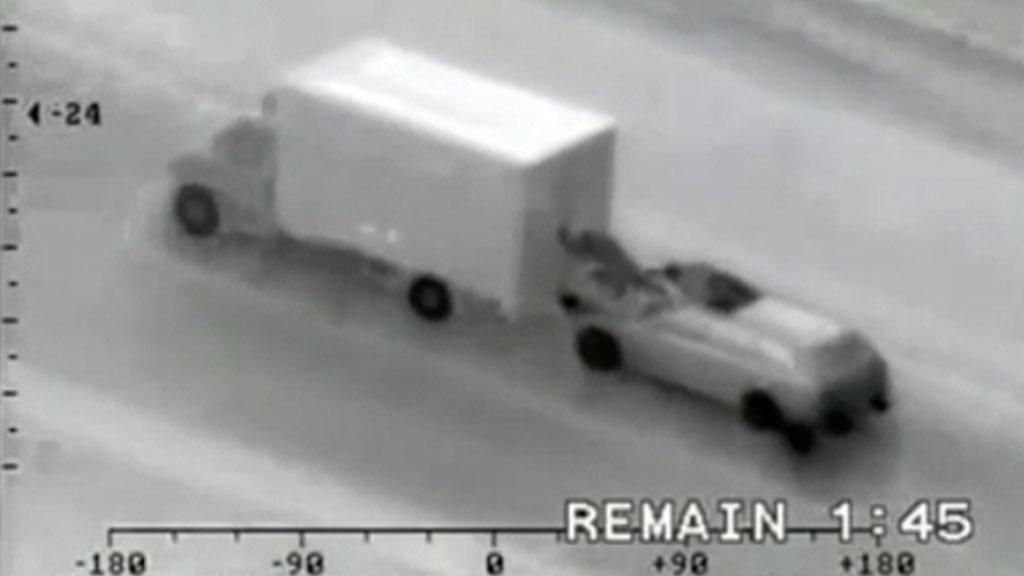 Detenida una banda de rumanos que robaba mercancía de camiones en marcha por el método del surfeo