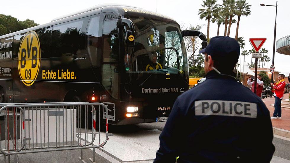 Detenido en Alemania el presunto autor del ataque contra el autobús del Borussia Dortmund