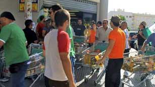 Dos detenidos por el asalto a los supermercados en Andalucía