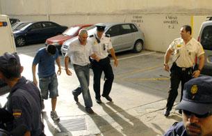 Pasan a disposición judicial tres detenidos por corrupción en Baleares