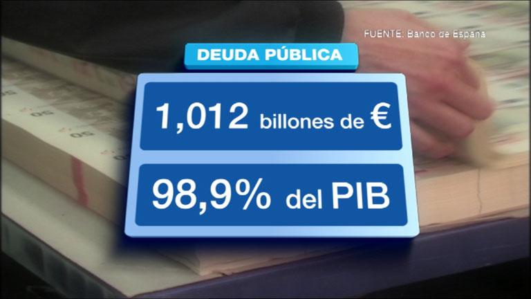 La deuda pública supera el billón de euros en el segundo trimestre del año