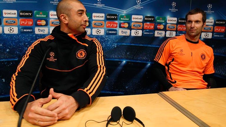 Di Matteo, entrenador del Chelsea, consciente de la necesidad de marcar ante el Barcelona