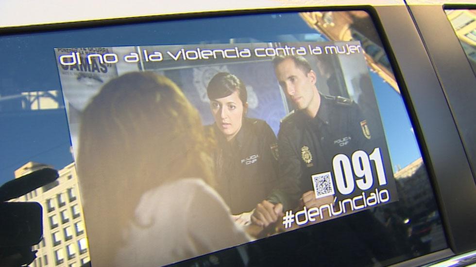 La Policía Nacional pone en marcha una campaña para visibilizar la violencia de género