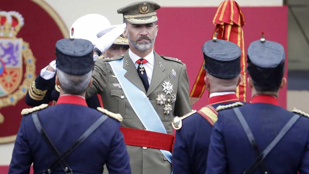 """Los reyes presidirán el desfile del 12 de octubre bajo el lema """"orgullosos de ser españoles"""""""