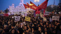 Ir al VideoDía de la Mujer: 49 ciudades españolas se suman a las marchas en todo el mundo por la igualdad