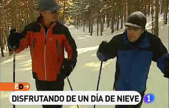 España Directo - Un día de nieve en Segovia