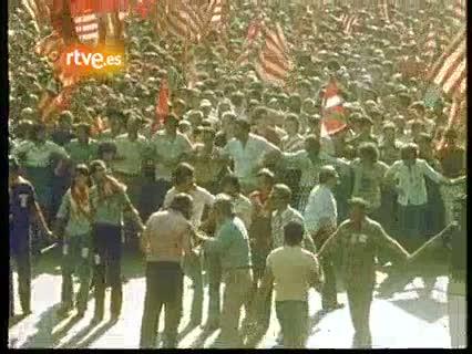 Arxiu TVE Catalunya - Diada Nacional de Catalunya el 1977