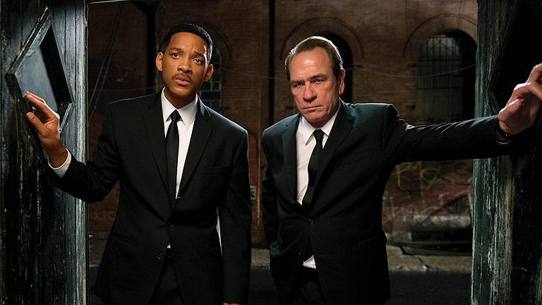 Días de cine: Los extraterrestres de 'Men in black 3'