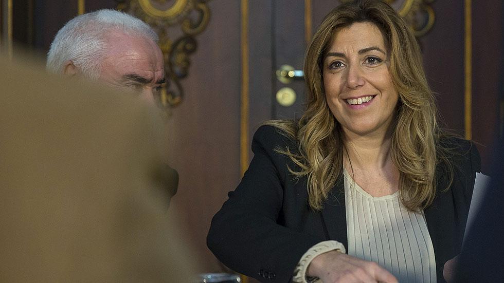 Díaz recibe el apoyo del PSOE andaluz ante un posible adelanto electoral