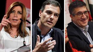 """Díaz, López y Sánchez creen que la moción de censura de Iglesias es """"poco seria"""" y busca protagonismo"""