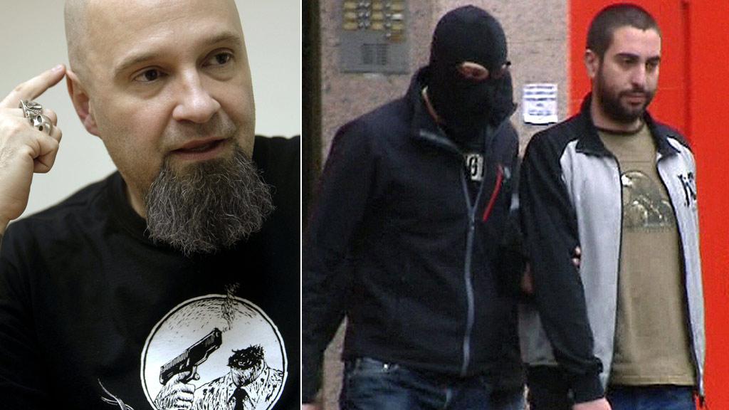 Diecinueve detenidos por enaltecimiento del terrorismo, entre ellos el líder de Def Con Dos