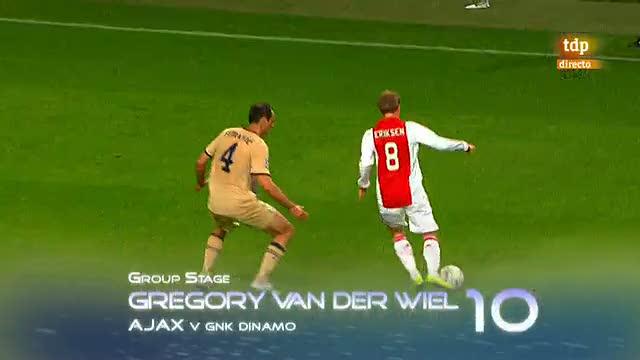 Los diez mejores goles de la Champions 2011-2012