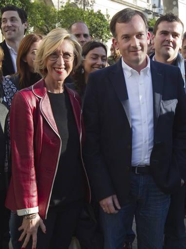 Díez presenta al candidato a la Junta de Andalucía por UPyD, Martín de la Herrán