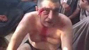 Un vídeo muestra una ejecución sumaria de los rebeldes sirios a partidarios del régimen