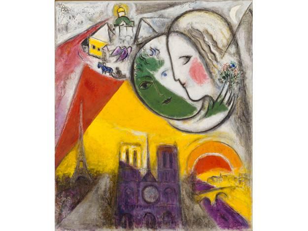 """""""Dimanche"""", Marc Chagall, (1952-54)"""