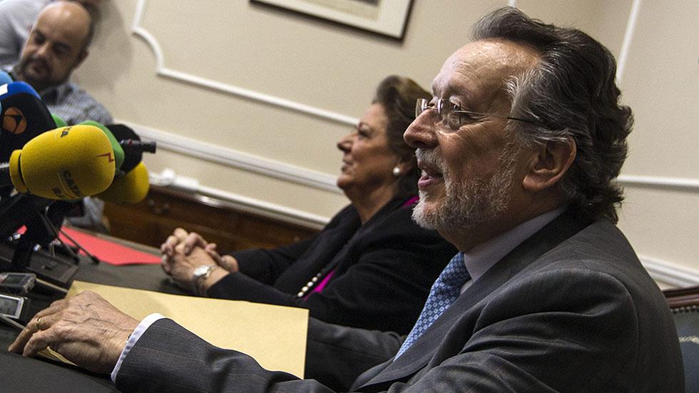 Alfonso Grau dimite como vicealcalde de Valencia tras ser procesado por Nóos