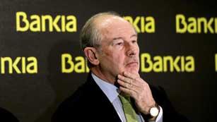 Rodrigo Rato deja la presidencia de Bankia